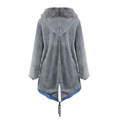 Parka Coat with Premium Fur Trim and Faux Fur Hood_32