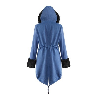 Parka Coat with Premium Fur Trim and Faux Fur Hood_28