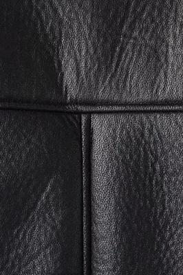 Women's Winter Velvet Pu Leather Jacket_7