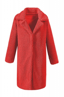 Women Thick Winter Faux Shearling Taffeta Coat_2