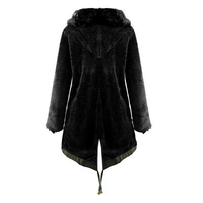 Hunt Hooded Parka Coat with Premium Fur Trim_17