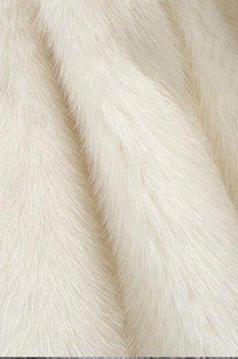 Women's Fashion Hooded White Fox Fur Coat_20