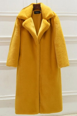 Women's Winter Faux Shearling Taffeta Coat_3