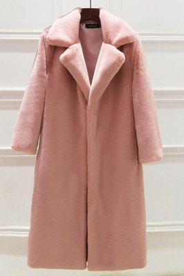 Women's Winter Faux Shearling Taffeta Coat_2