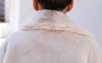 Women's Winter Faux Shearling Taffeta Coat_16