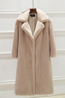 Women's Winter Faux Shearling Taffeta Coat_1