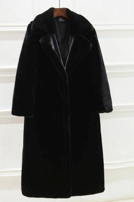 Women's Winter Faux Shearling Taffeta Coat_4