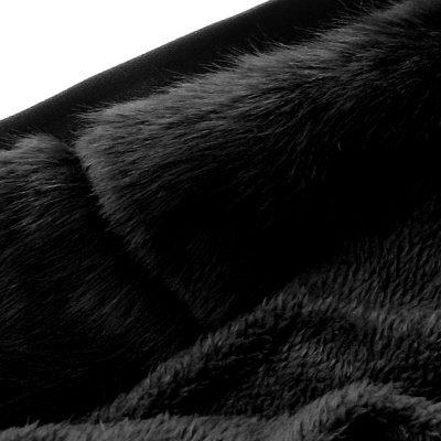 Premium Fur Trimmed Parka Coat with Faux Fur Hood_47