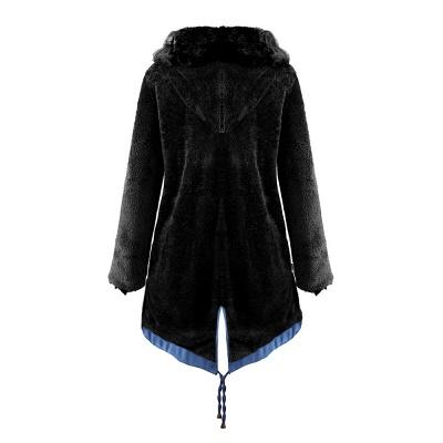 Parka Coat with Premium Fur Trim and Faux Fur Hood_39