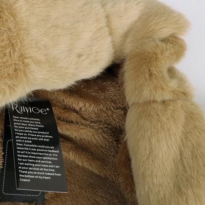 Parka Coat with Premium Fur Trim and Faux Fur Hood_53