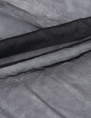 Blossom   Black Tassel High Low Petticoat_13