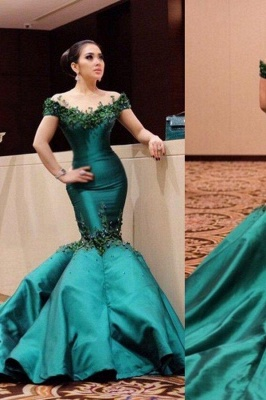 Celebrity Lace Beading Mermaid Elegant and Satin V-Neck Dress Cocktail Dress_2
