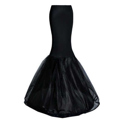 Badia | Cheap Black Mermaid Petticoat_7