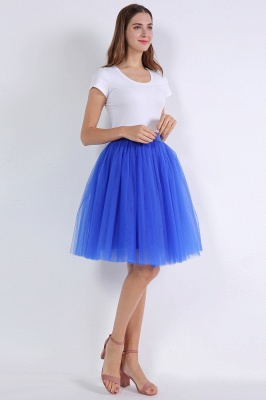 Bella Belle | Royal Blue Princess Ball Gown Skirt_11