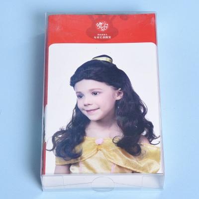 Bandana Long Wavy Curly Cosplay Wigs for Girl_4