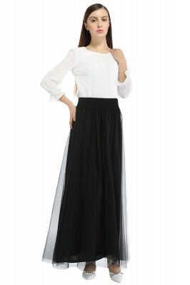 Bena | A-line Tulle Skirt_10