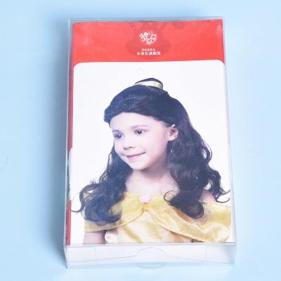 Bandana Long Wavy Curly Cosplay Wigs for Girl_5