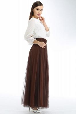 Bena | A-line Tulle Skirt_21