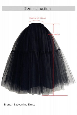 Bambi | Cheap Black Ball Gown Petticoat_12