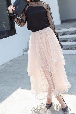 Beatrice | Black Tulle Skirt with Layers_22