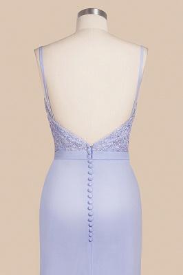 Spaghetti Straps Appliques Long Sexy Prom Dresses   Elegant Sweep Train Evening Dresses_9