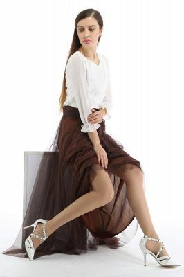 Bena | A-line Tulle Skirt_20