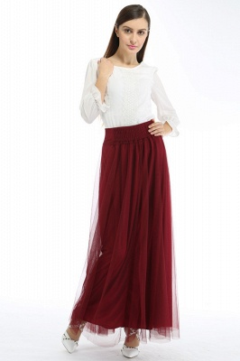 Bena | A-line Tulle Skirt_16