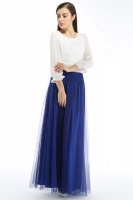 Bena | A-line Tulle Skirt_7