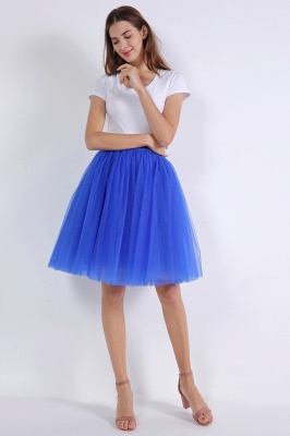 Bella Belle | Royal Blue Princess Ball Gown Skirt_6