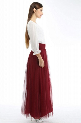 Bena | A-line Tulle Skirt_15