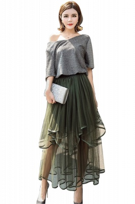 Beatrice | Black Tulle Skirt with Layers_4