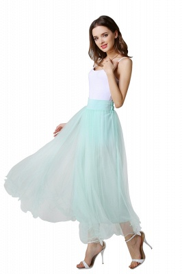 Bunny | White A-line Tulle Skirt_14