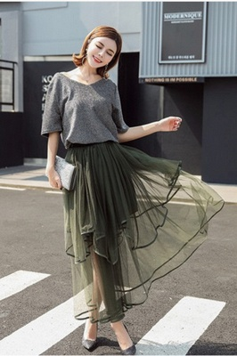 Beatrice | Black Tulle Skirt with Layers_13