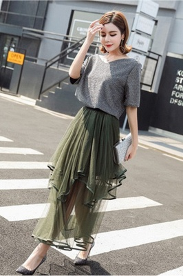 Beatrice   Black Tulle Skirt with Layers_15