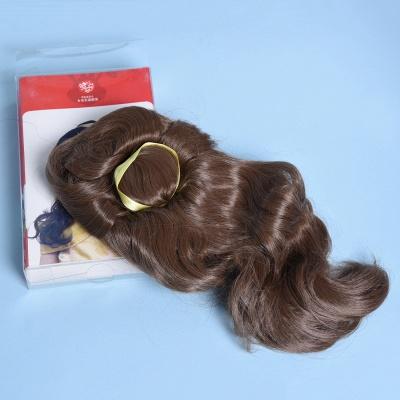 Bandana Long Wavy Curly Cosplay Wigs for Girl_3