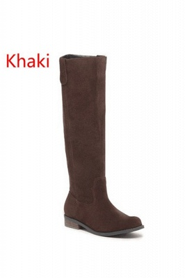 Fashion Brown Knee High Boots for Women_2