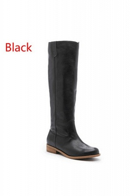 Fashion Brown Knee High Boots for Women_4