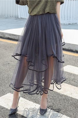 Beatrice   Black Tulle Skirt with Layers_11