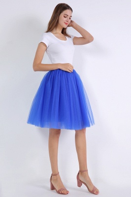 Bella Belle | Royal Blue Princess Ball Gown Skirt_10
