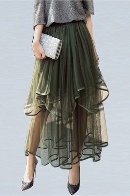 Beatrice   Black Tulle Skirt with Layers_16