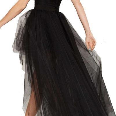 Blossom   Black Tassel High Low Petticoat_6