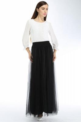 Bena | A-line Tulle Skirt_12