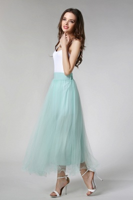 Bunny | White A-line Tulle Skirt_7