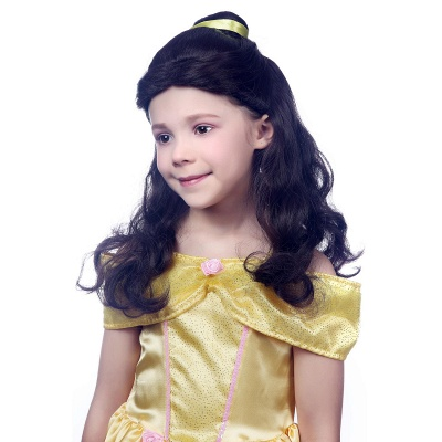 Bandana Long Wavy Curly Cosplay Wigs for Girl