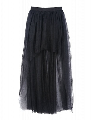 Blossom | Black Tassel High Low Petticoat_10