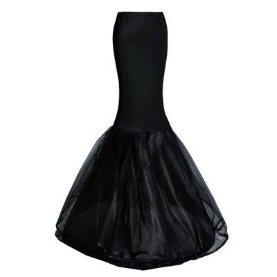 Badia   Cheap Black Mermaid Petticoat_7