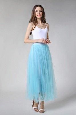 Bunny | White A-line Tulle Skirt_5