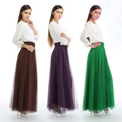 Bena | A-line Tulle Skirt