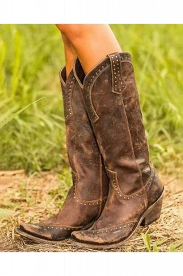 Stylish Knee High Women's Boots