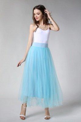 Bunny | White A-line Tulle Skirt_40